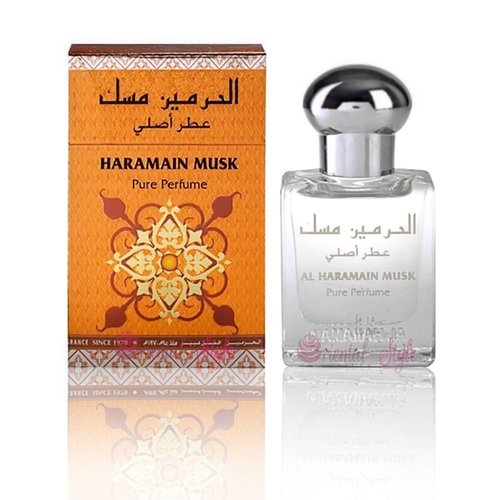 Al Haramain Perfume Oil Musk 15ml
