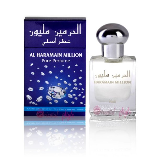 Al Haramain Concentrated Perfume Oil Million - Perfume free from alcohol