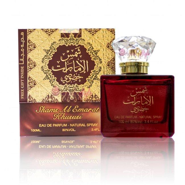 Ard Al Zaafaran Perfumes  Shams Al Emarat Khususi Eau de Parfum 100ml