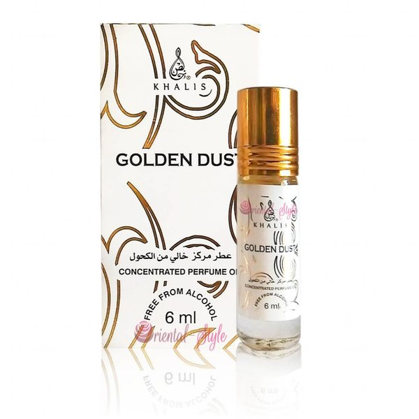 Khalis Perfume Oil Golden Dust Concentrated 6ml