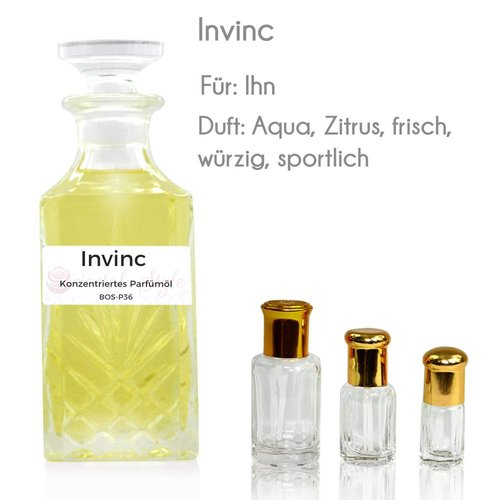 Oriental-Style Perfume oil Invinc