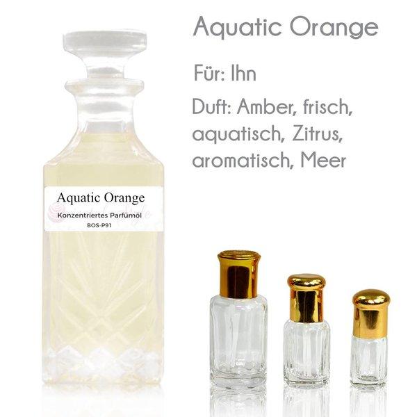 Oriental-Style Aquatic Orange Parfümöl - Parfüm ohne Alkohol