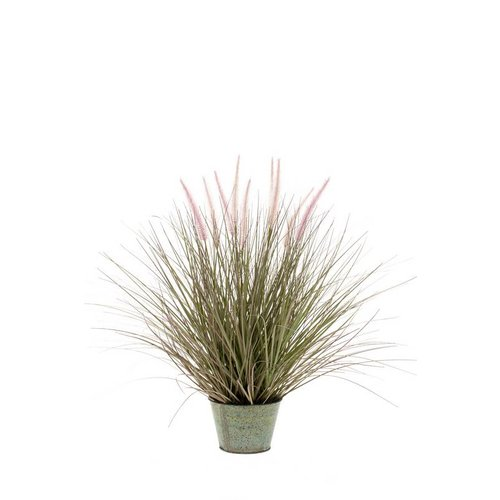 jouw pennisetum gras in zinken pot l kunstplant online. Black Bedroom Furniture Sets. Home Design Ideas