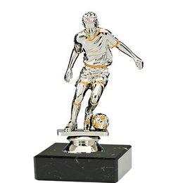 Voetballer speler op marmer voet Man/Vrouw