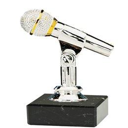 Microfoon op marmer voetje