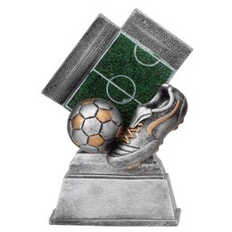 Trofee voetbalveld 12cm