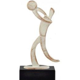 Volleybal award metaal