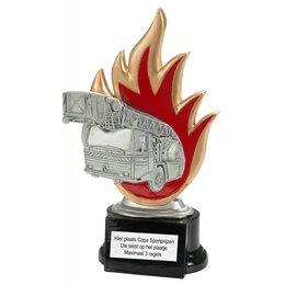 Brandweer trofee 18 t/m 23cm