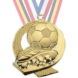 Medailles voetbal ø45mm Goud-zilver-brons