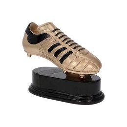 Voetbalschoen Goud met zwart accent