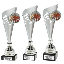 Trofee met resin afslag Basketbal
