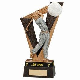 Golf trofee Victory