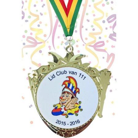 Carnavals medailles 75x65