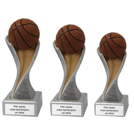 Basketbal beeld 14.5cm t/m 19.5cm