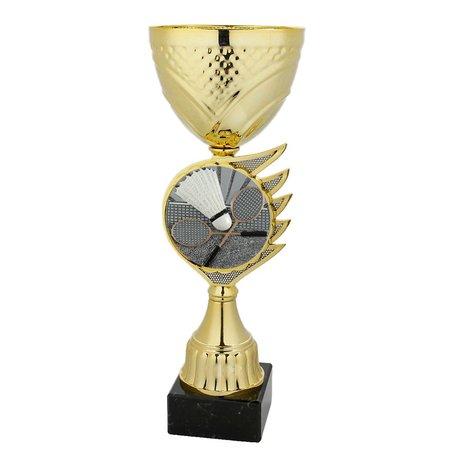 Bekers badminton goud