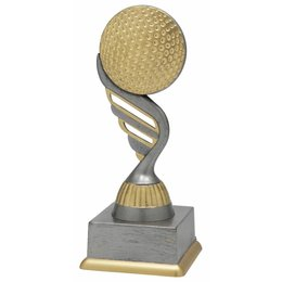 Golf trofee 15.5cm t/m 18.5cm