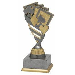 Kaart trofee 15.5cm t/m 18.5cm