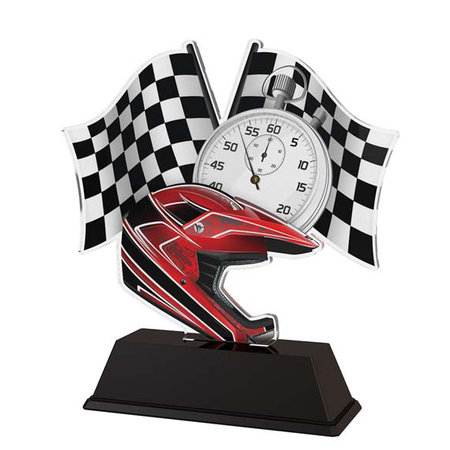 BMX trofee acryl 14.5 t/m 16.5cm