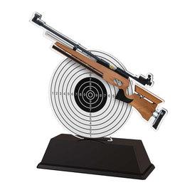 Luchtgeweer trofee acryl 14.5 t/m 16.5cm