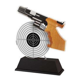 Luchtpistool trofee acryl 14.5 t/m 16.5cm