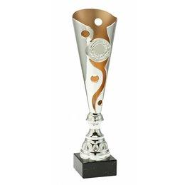 Trofee zilver/goud 34 t/m 40.5cm