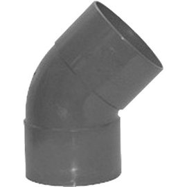 Pipelife PVC BOCHT  45  2XLIJMMOF 40