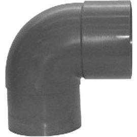 Pipelife PVC BOCHT 90 LYM MOF/SPIE  50