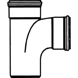 Pipelife PVC T-STUK 90 2XMOF/SPIE  125