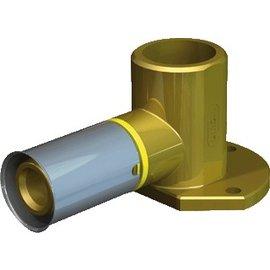 Wavin gas MUURPL 16X1/2BI