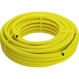 Viega Viega Pexfit Fosta G-buis voor gasinstallatie met mantel 25x2.8mm rol=50m, prijs=per meter geel 583088