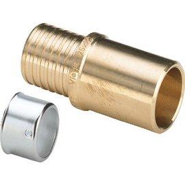 Viega Viega Pexfit inschuifsok 40x35mm knel/soldeer 588441