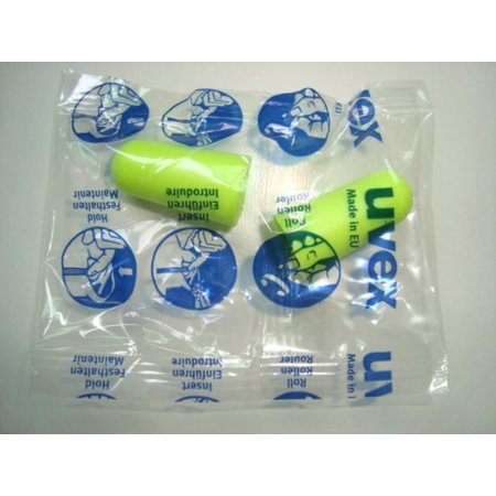 Uvex X-Fit oordoppen | SNR 37dB | Ergonomisch design | 25 paar