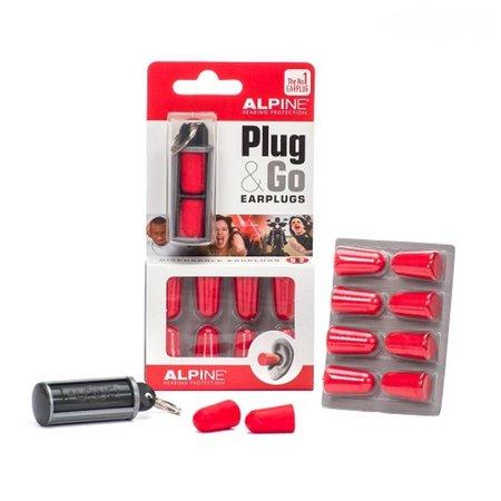 Alpine Plug and Go Oordopjes + Travelbox | Hoge demping