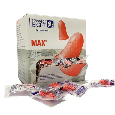 Howard Leight MAX | 200 paar | SNR 37dB | Zachte gehoorbescherming