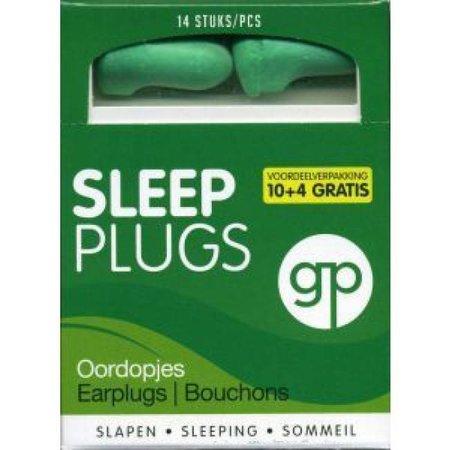 Get Plugged Sleep Plugs | 7 paar | Zachte slaap oordopjes