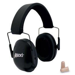 Macks Schietsport oorkap zwart