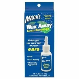 Macks Wax Away oordruppels