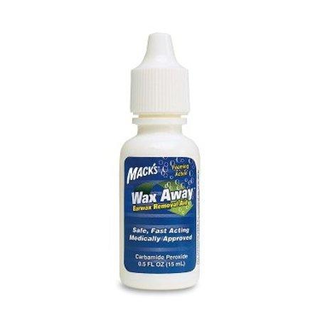 Macks Mack's Wax Away | oordruppels tegen oorsmeer