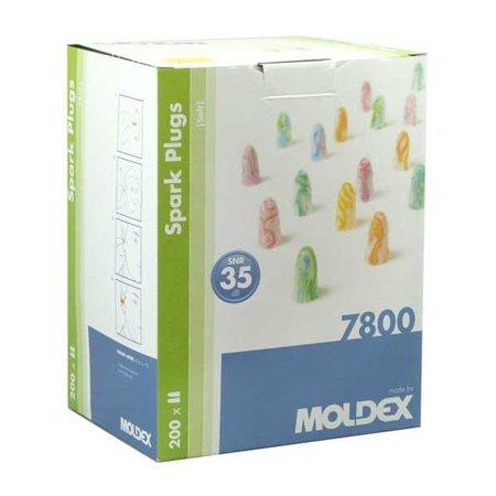 Moldex Spark Plugs | 200 paar | 35 dB | Aantrekkelijke kleuren