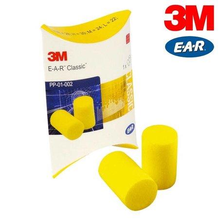 EAR Classic oordopje | 250 paar | SNR 28dB | Gele oordopjes