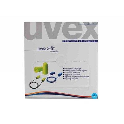 Uvex X-Fit oordoppen 200 paar