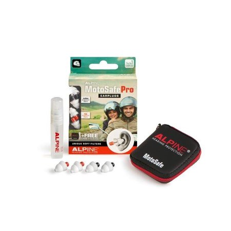 Alpine MotoSafe Pro | motor oordopjes | zacht filter