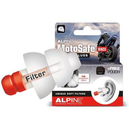 Alpine MotoSafe Race | motor oordopjes | zacht filter