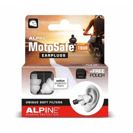 Alpine MotoSafe Tour | motor oordopjes | zacht filter