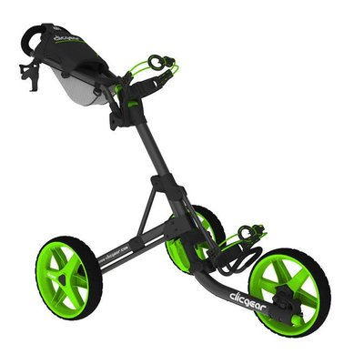 Clicgear Clicgear golftrolley 3.5 charcoal lime
