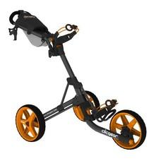 Clicgear Clicgear golftrolley 3.5 mat zwart oranje