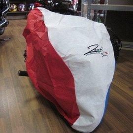 Sendai Minibike Afdekhoes rood/wit/blauw zocchi (B29)