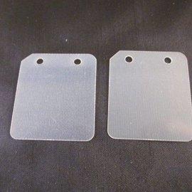 Sendai Membraanset fiberglass 2stuks voor polini 911/GP3 (KA8)