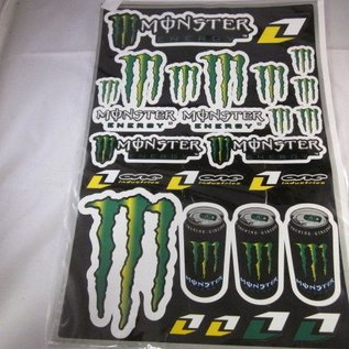 Monster stickerset 31MM x 41MM