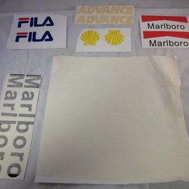 Sendai Universeel Stickerset Fila Marlboro